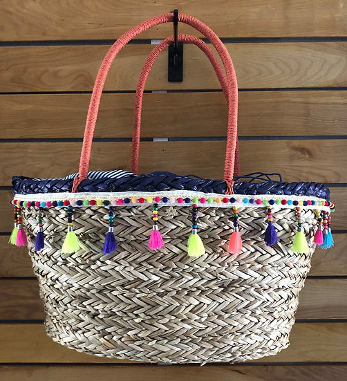 Seagrass Beach Basket