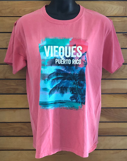 Peach Palm Tree T-Shirt