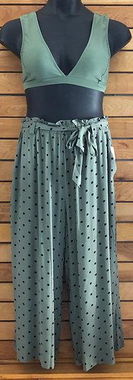 Polka-Dot Pants