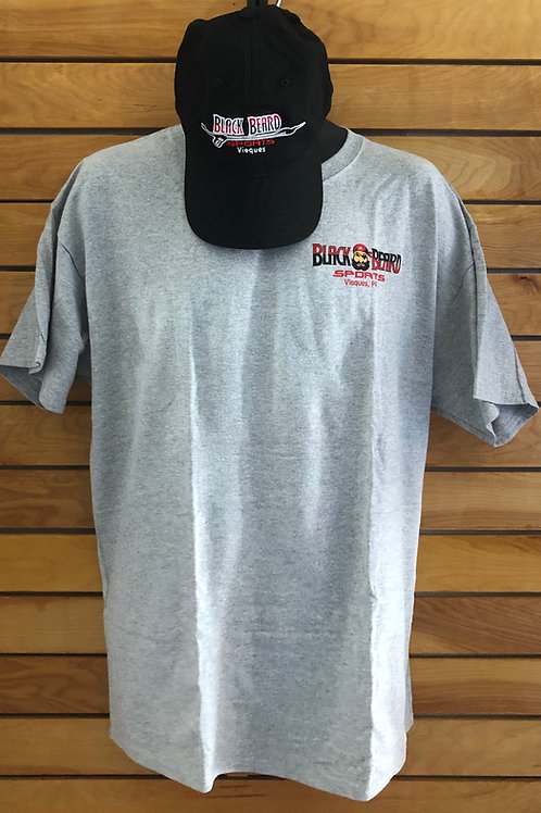 Black Beard Sports T-Shirt and Hat Combo