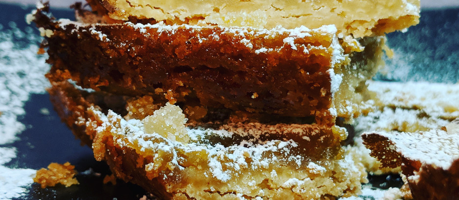End of Summer Blues? Brighten up with tart Triple-Lemon Squares!