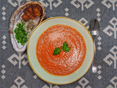Perfectly Simple Creamy Tomato Soup