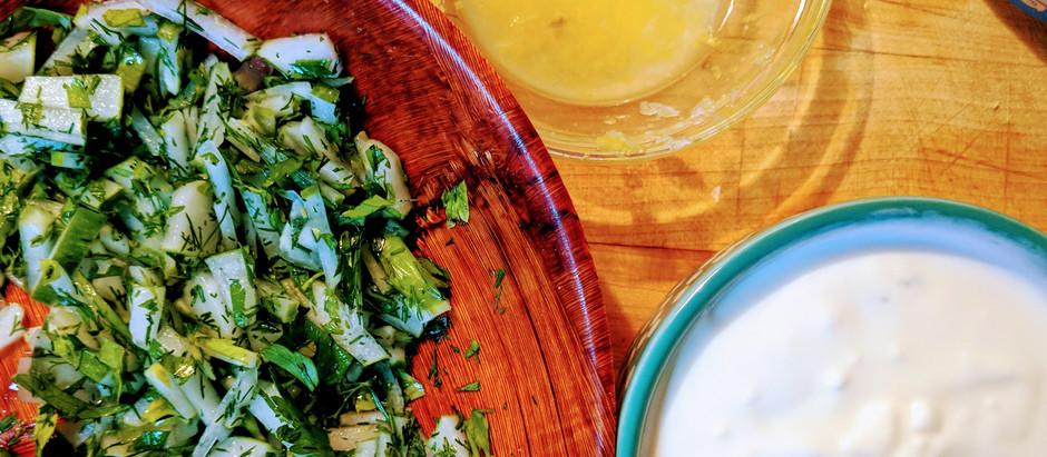 Garlic Greek Yogurt Sauce