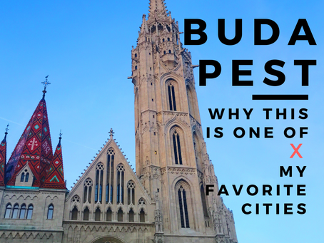 Why Budapest is one of my favorite cities!