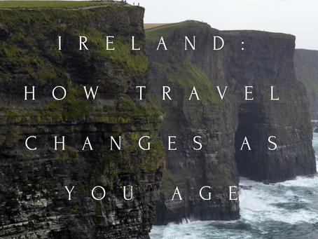 How Travel Changes (you) as You Age