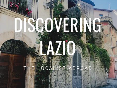 Discovering Lazio