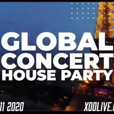 """JULY 11, """"AGAPAO LIVE"""" PAY-PER-VIEW, GLOBAL CONCERT HOUSE PARTY"""