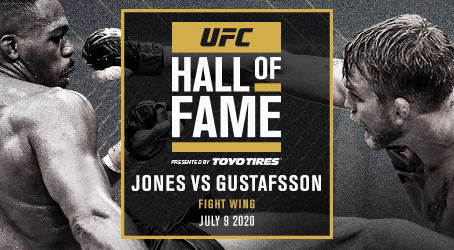 UFC® 165 FIGHT BETWEEN JON JONES AND ALEXANDER GUSTAFSSON TO BE INDUCTED INTO UFC® HALL OF FAME