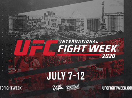 9TH ANNUAL UFC INTERNATIONAL FIGHT WEEK™ TAKES OVER LAS VEGAS FROM JULY 7 – 12