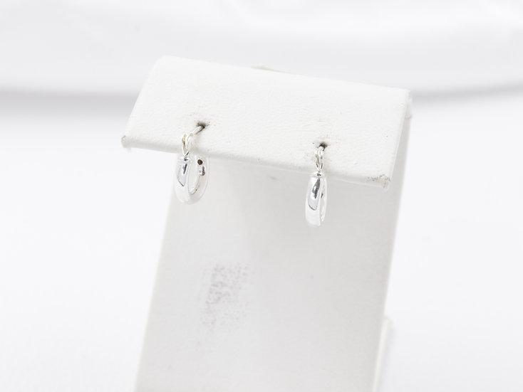 Sterling Silver hoop mini earrings