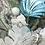 Thumbnail: 18K White Gold .020cttw  Round Brilliant Diamond Swirl Ring
