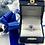Thumbnail: 14K White Gold Sapphire Diamond Ring