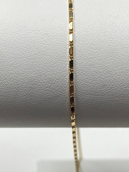 "14K Yellow Gold 18"" 1mm Lumina Chain"