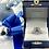 Thumbnail: 18K White Gold Diamond and Sapphire Semi Mount