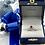 Thumbnail: 14K White Gold Oval Ruby Diamond Ring