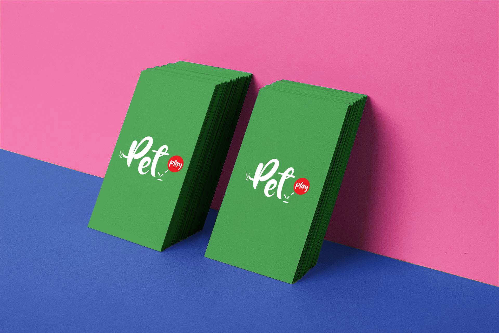 Pet play card