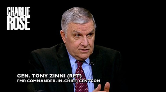 General Ziinni on the Charlie Rose Show