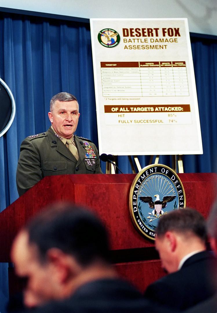 General Tony Zinni, speech following Operation Desert Storm