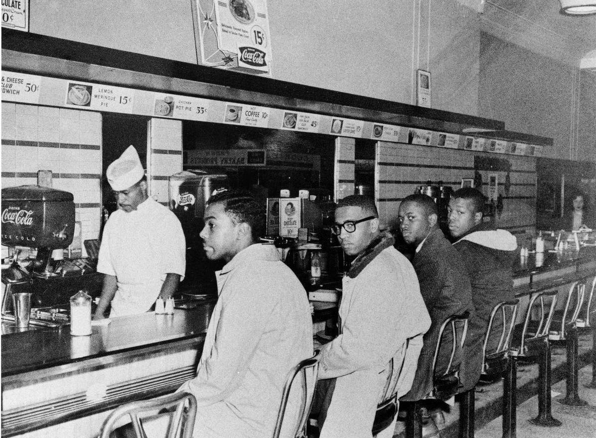 Woolworth lunch counter Sit In Greensboro, North Carolina 1960