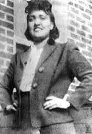 Henrietta Lacks, the source of the HeLa cell line.