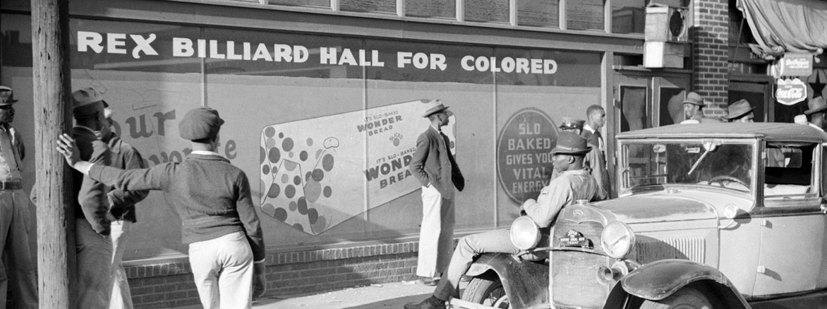 Rex Billiard Hall for Colored, Beale Street, Memphis, Tennessee, 1939