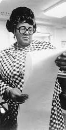 Ethel Payne, an African-American journalist