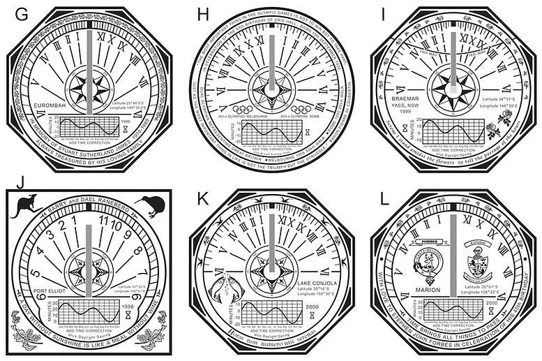 horizontal sundial designs 2