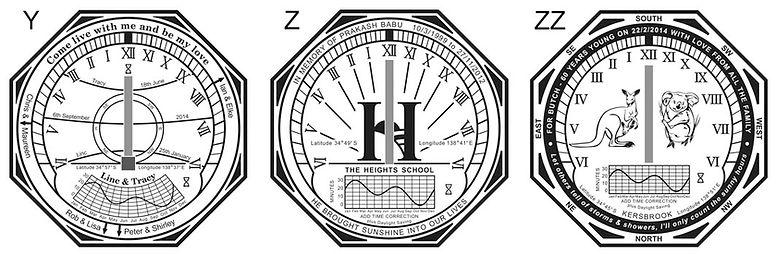 horizontal sundial designs 5