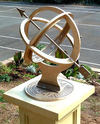 armillary sphere sundial