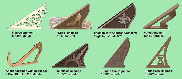 sundial gnomons