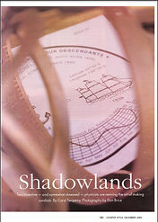 shadowlands sundial article