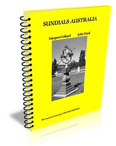 sundials Australia our book