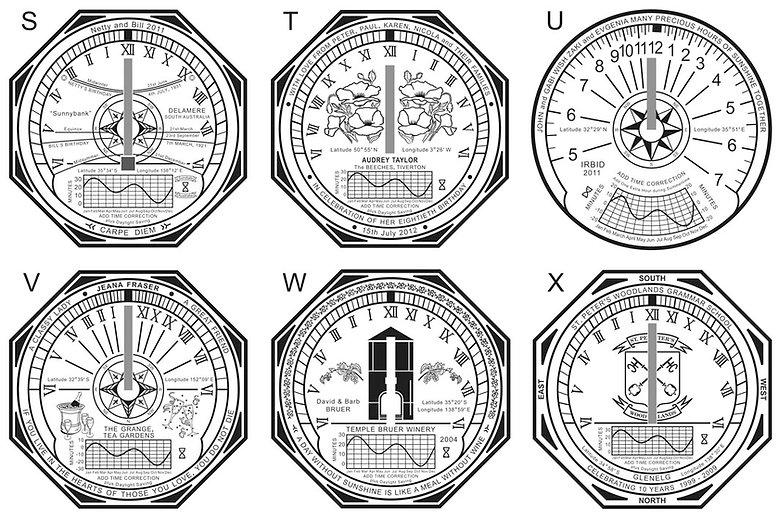 horizontal sundial designs 4