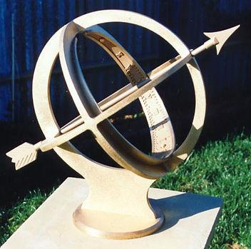 armillary sdphere sundial