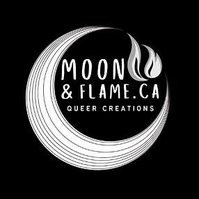 [Original size] Moon And Flame - Logo.pn