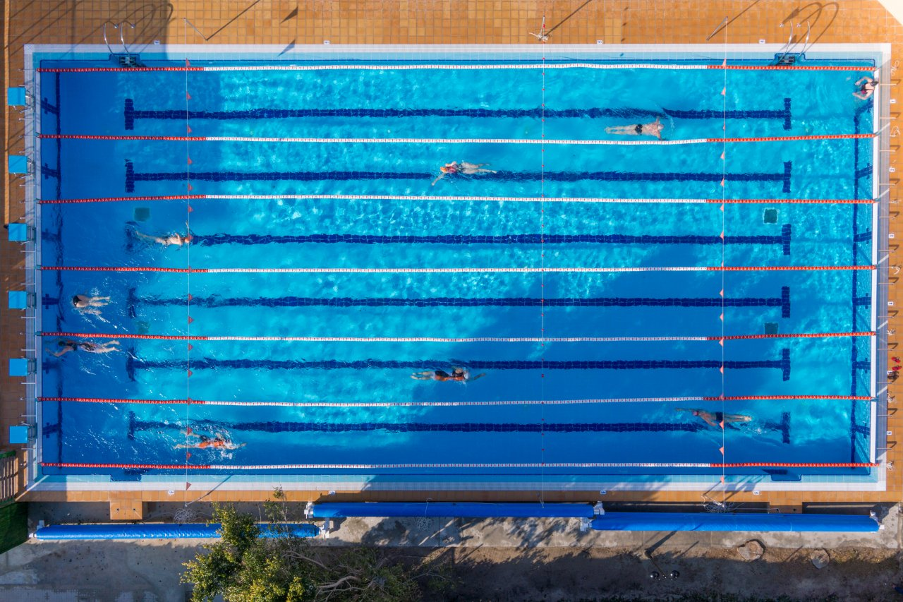 guess who dumped 13200 olympic pools worth of california water truth or drought - Rectangle Pool Aerial View