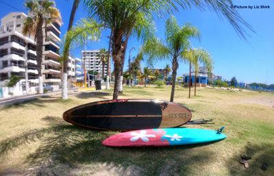 SALINAS ECUADOR SURF PADDLING