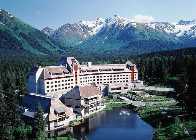 The Hotel Alyeska Summer Aerial - ken gr