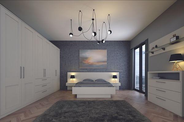 Bella Shaker Matt Dove Grey Bedroom.jpg