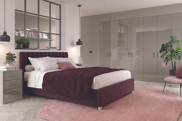 Zurfiz Ultragloss Stone Grey Bedroom.jpg