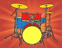 batterie-de-percussions-dessins-des-usua