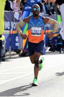Daniel Omokha - 2019 TCS NY Marathon