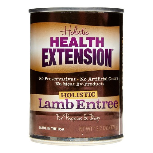Health Extension Canned Dog Food: Holistic Lamb