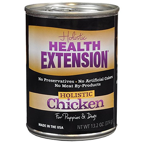 Health Extension Canned Dog Food: Holistic Chicken