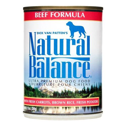 Natural Balance Ultra Premium Dog Food: Beef