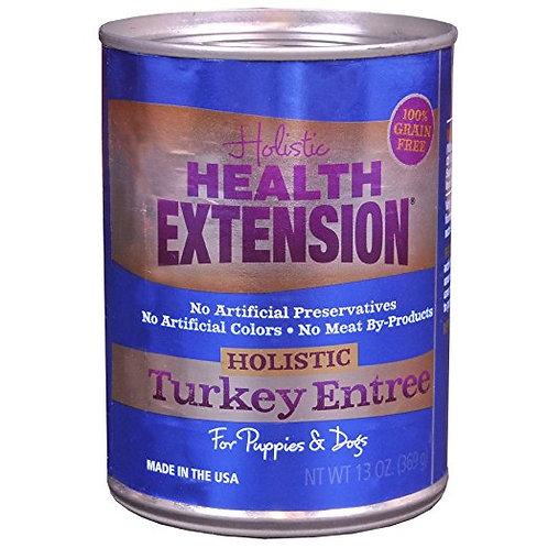 Health Extension Canned Dog Food: Grain-Free Holistic Turkey