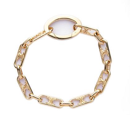 """""""Arc de Triomphe Vermeil"""" Bracelet"""