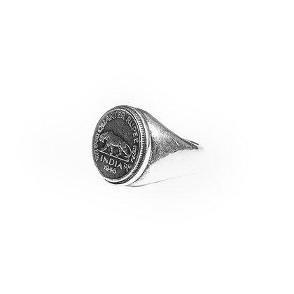 """""""Quarter Rupee"""" Ring"""