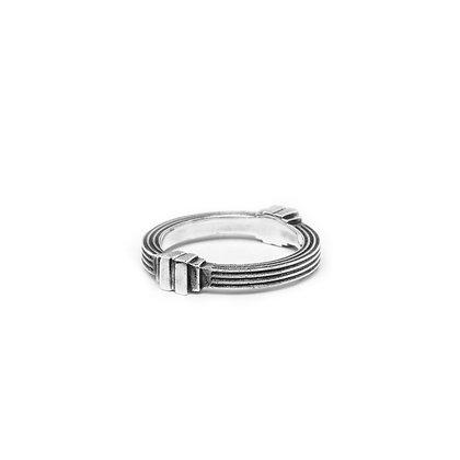 """""""Colonne Carré"""" Ring"""