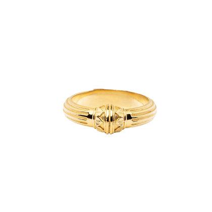 """""""Colonne Palmière Vermeil"""" Ring"""